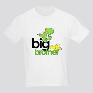 big brother t-shirt dinosaur Kids Light T-Shirt